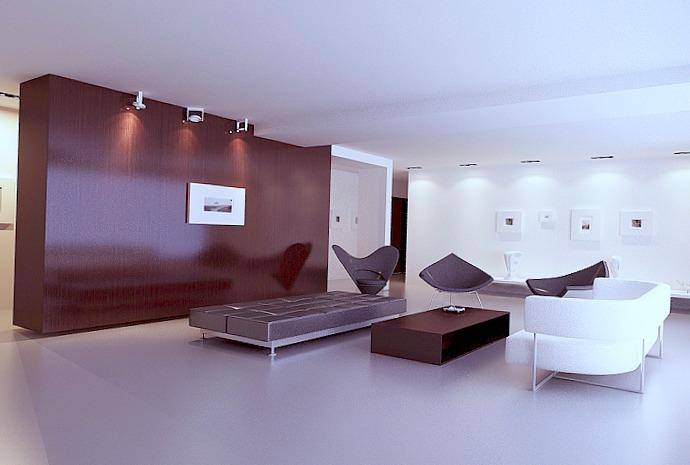 Pour qu'un espace paraisse plus grand, ne l'encombrez pas avec trop de meubles.