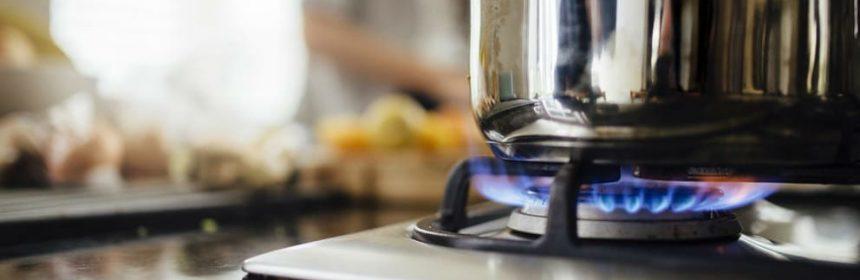 casserole gaz